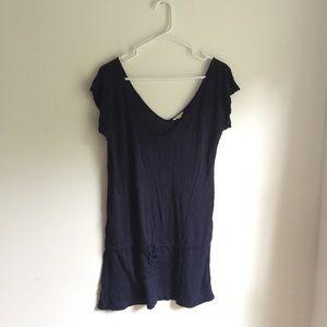 💜💜Minimalist Heritage blue knit top
